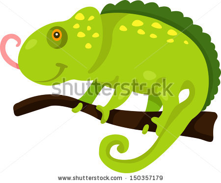 Iguana Cartoon Stock Images, Royalty.