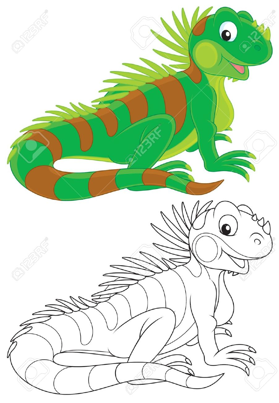 iguanidae clipart clipground