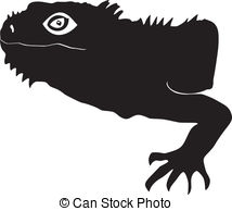 Iguanidae Vector Clip Art Illustrations. 11 Iguanidae clipart EPS.