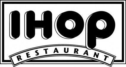 IHOP Restaurants logo2 Clipart Graphic.