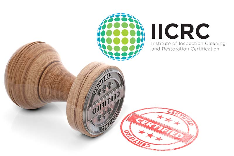 56 New IICRC Certified Firms Added in November.