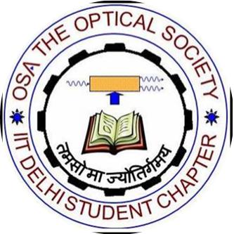 OSA IIT Delhi student chapter (@iit_osa).