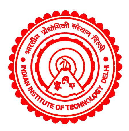 Indian Institute of Technology Delhi.
