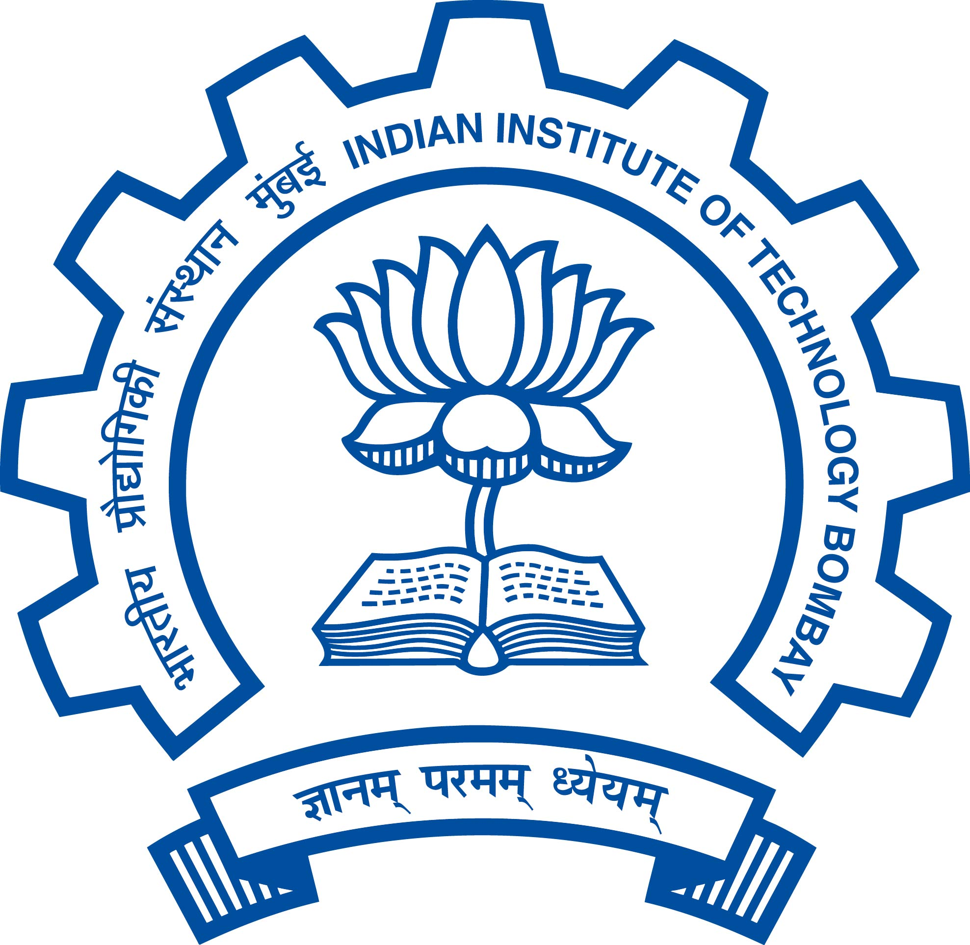 IIT Bombay Logo and Diamond Jubilee Logo.