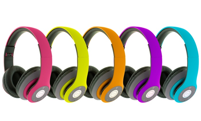 iJoy Matte Finish Logo Premium Wireless Headset.