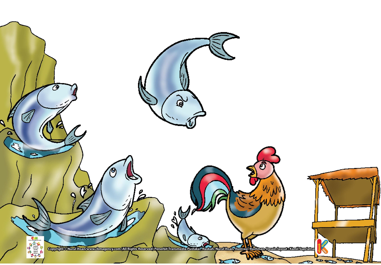 Perselisihan Ayam Jantan dan Ikan Tongkol.