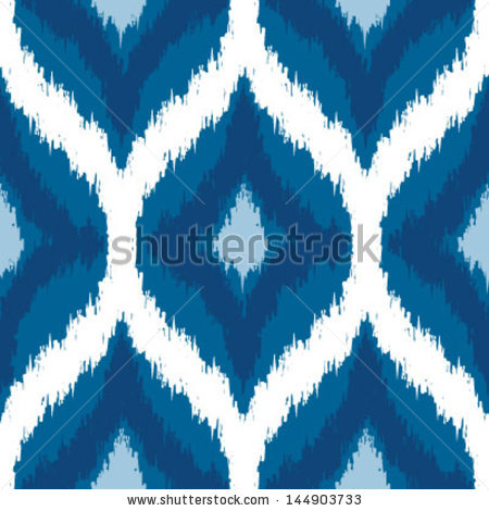Ikat Pattern Stock Images, Royalty.