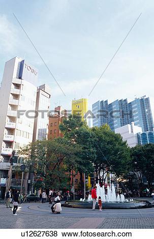 Pictures of Ikebukuro West Gate Park, Tokyo, Japan u12627638.