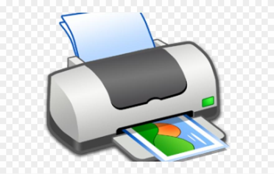 Printer Clipart Logo.