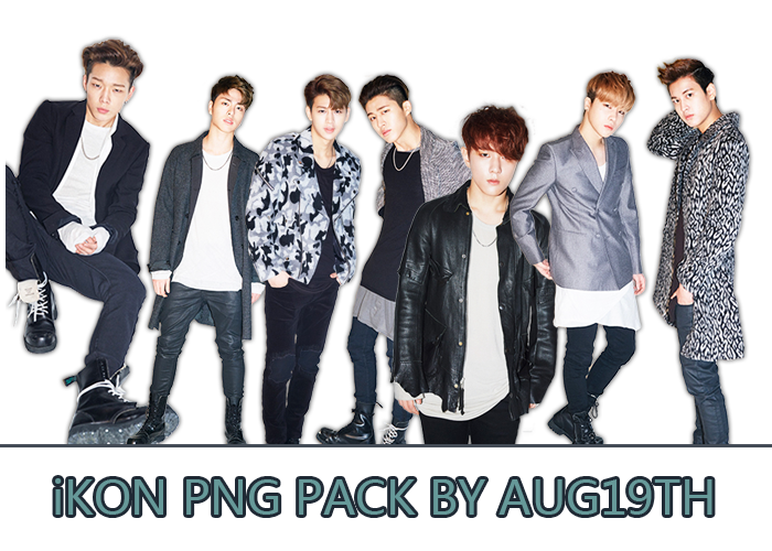 iKON PNG PACK by Aug19th on DeviantArt.