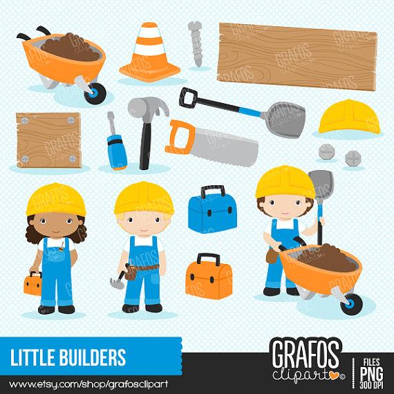 LITTLE BUILDERS.