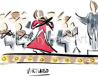 Virtuoso symphony.