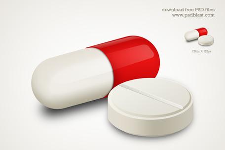 Pill Clip Art, Vector Pill.