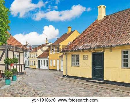 Pictures of Birthplace from the writer Hans Christian Andersen.