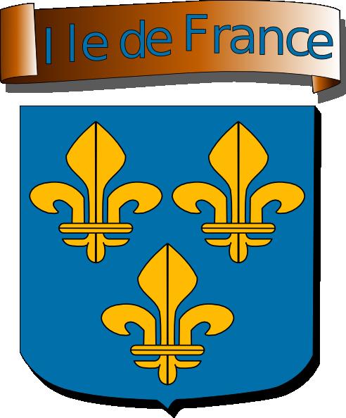 Ile De France clip art Free Vector / 4Vector.
