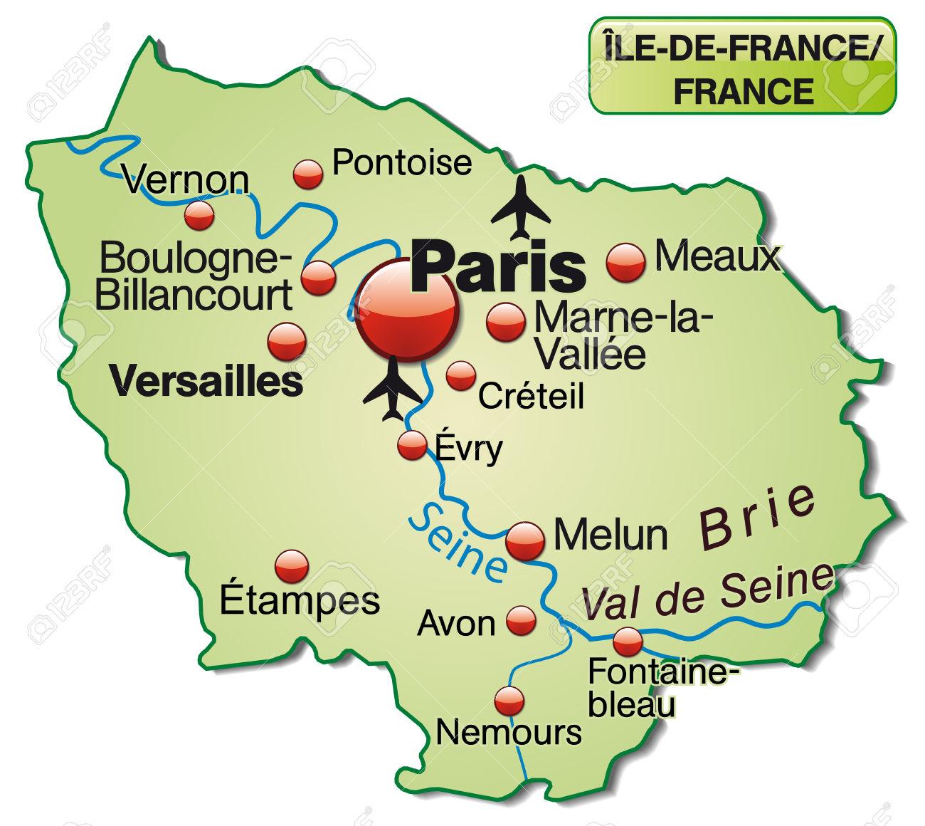 Carte De L'Ile.