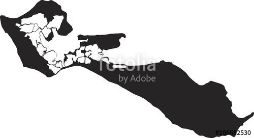 """Ile de Ré, logo, silhouette"""" Stock image and royalty."""