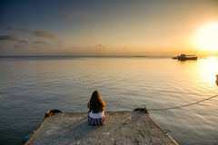 Ilha Do Mel, Brazil Stock Image.