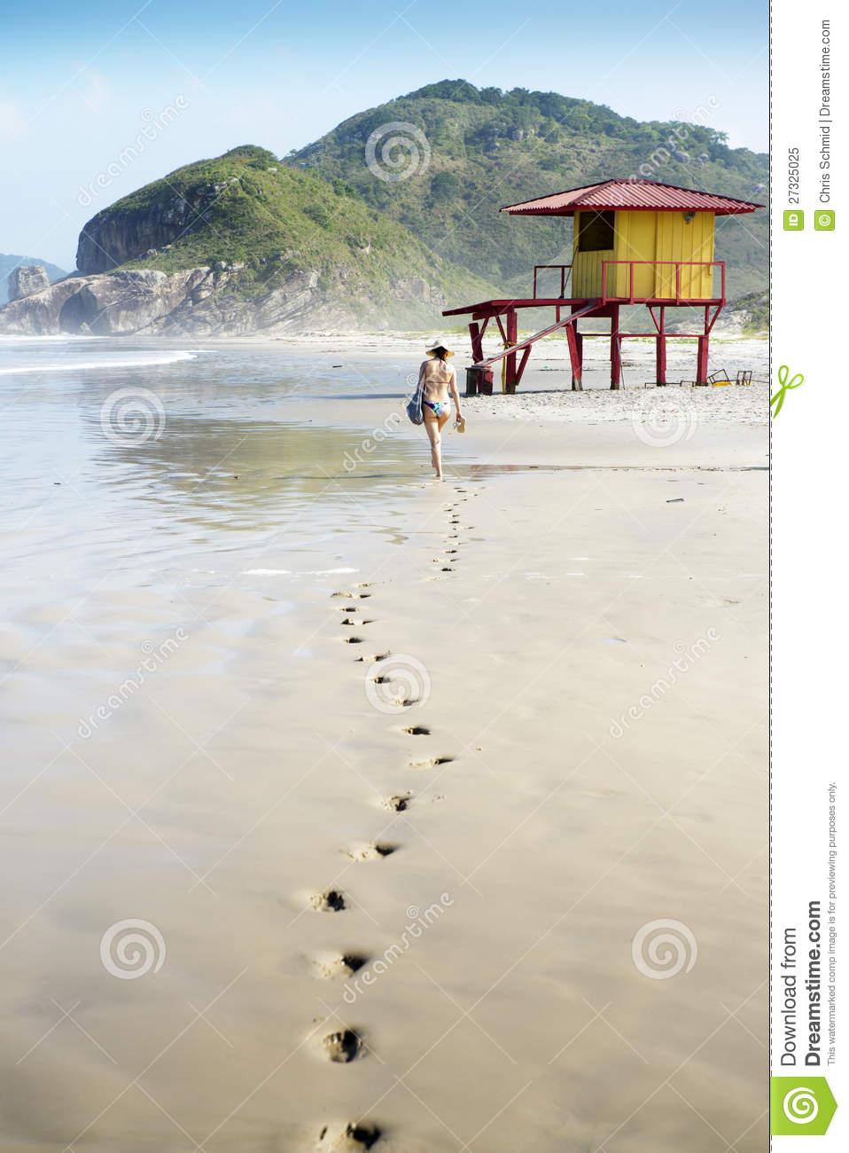 Ilha Do Mel, Brazil Royalty Free Stock Photo.