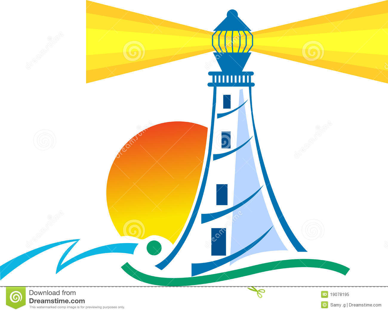 Lighthouse Stock Illustrations.