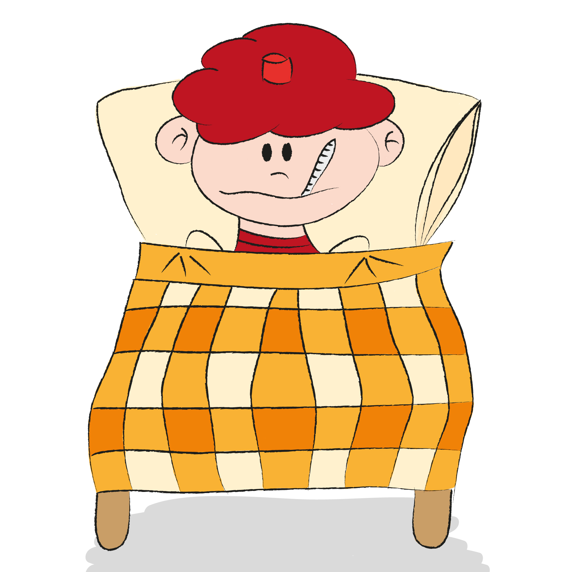 ill person Out sick clipart jpg.