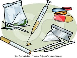 Illegal Drugs Clipart.