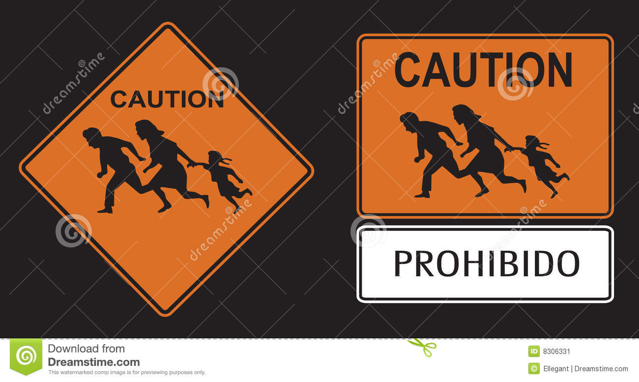 Illegal Immigration Clipart.