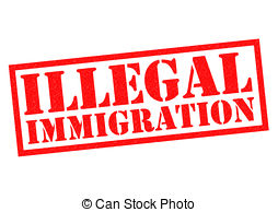 Clip Art of Illegal Immigration.