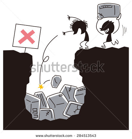 Illegal Dumping Clipart.