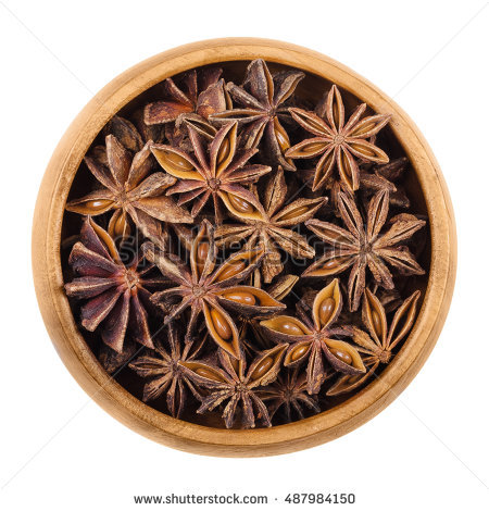 """chinese Anise\"""" Stock Photos, Royalty."""