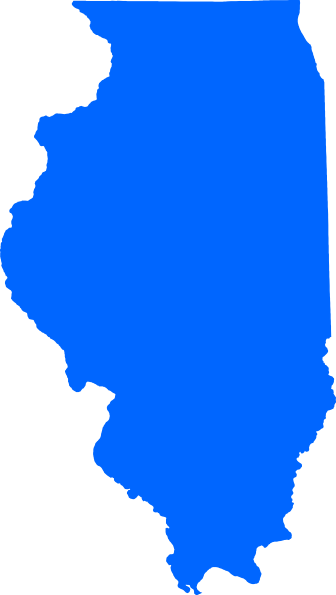 Blue Illinois Clip Art at Clker.com.