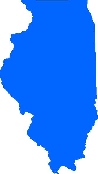 Blue Illinois Clip Art at Clker.com.