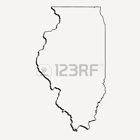 375 Illinois Outline Cliparts, Stock Vector And Royalty Free.