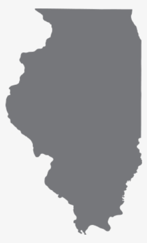 Illinois Outline Png PNG Images.