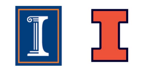 U of Illinois to exclusively use block \'I\' logo from now on.