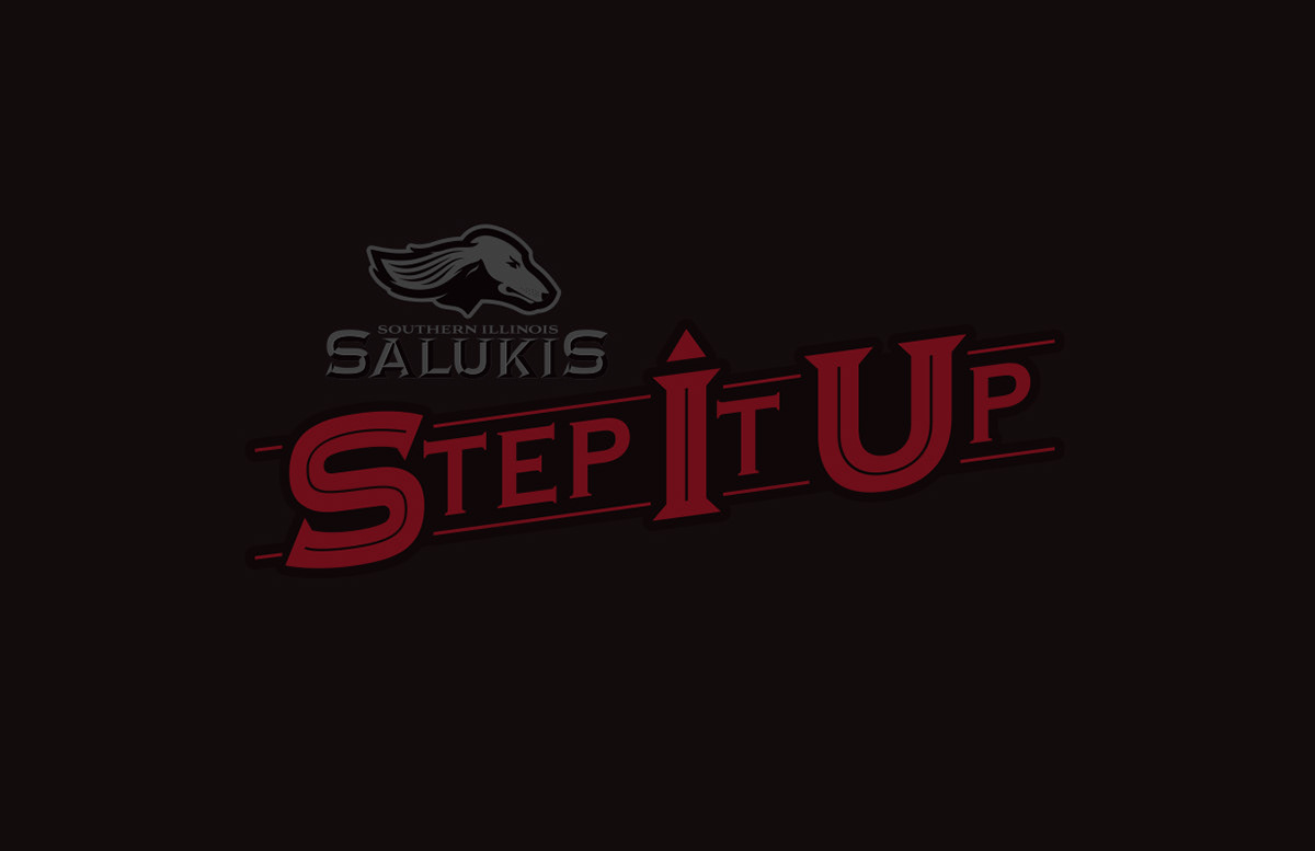 Southern Illinois University Salukis Logo Design Style on.