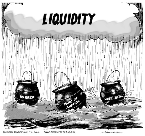 Liquidity Crisis? A Currency Perspective.