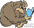 Monkey Clip Art Image.
