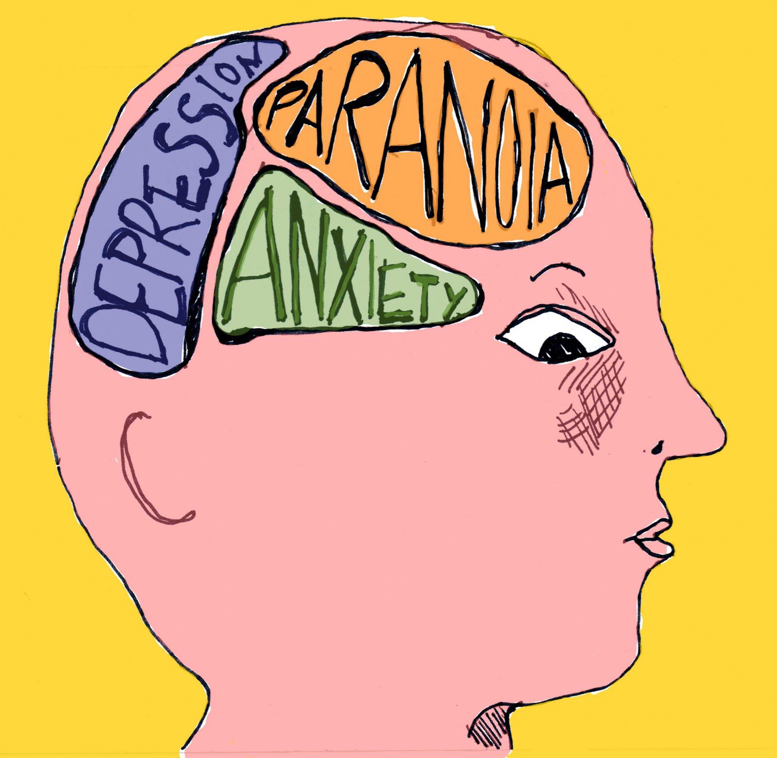 Free mental illness clipart.