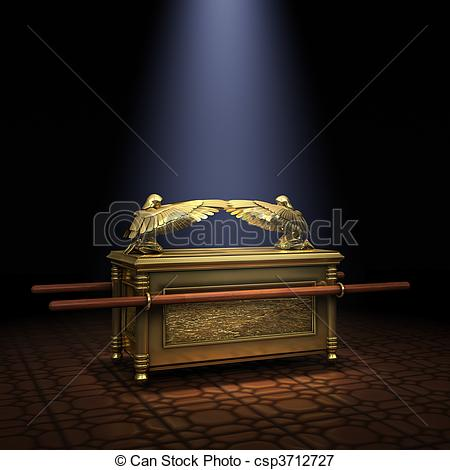Stock Illustrations of Ark of the Covenant inside the Holy of.