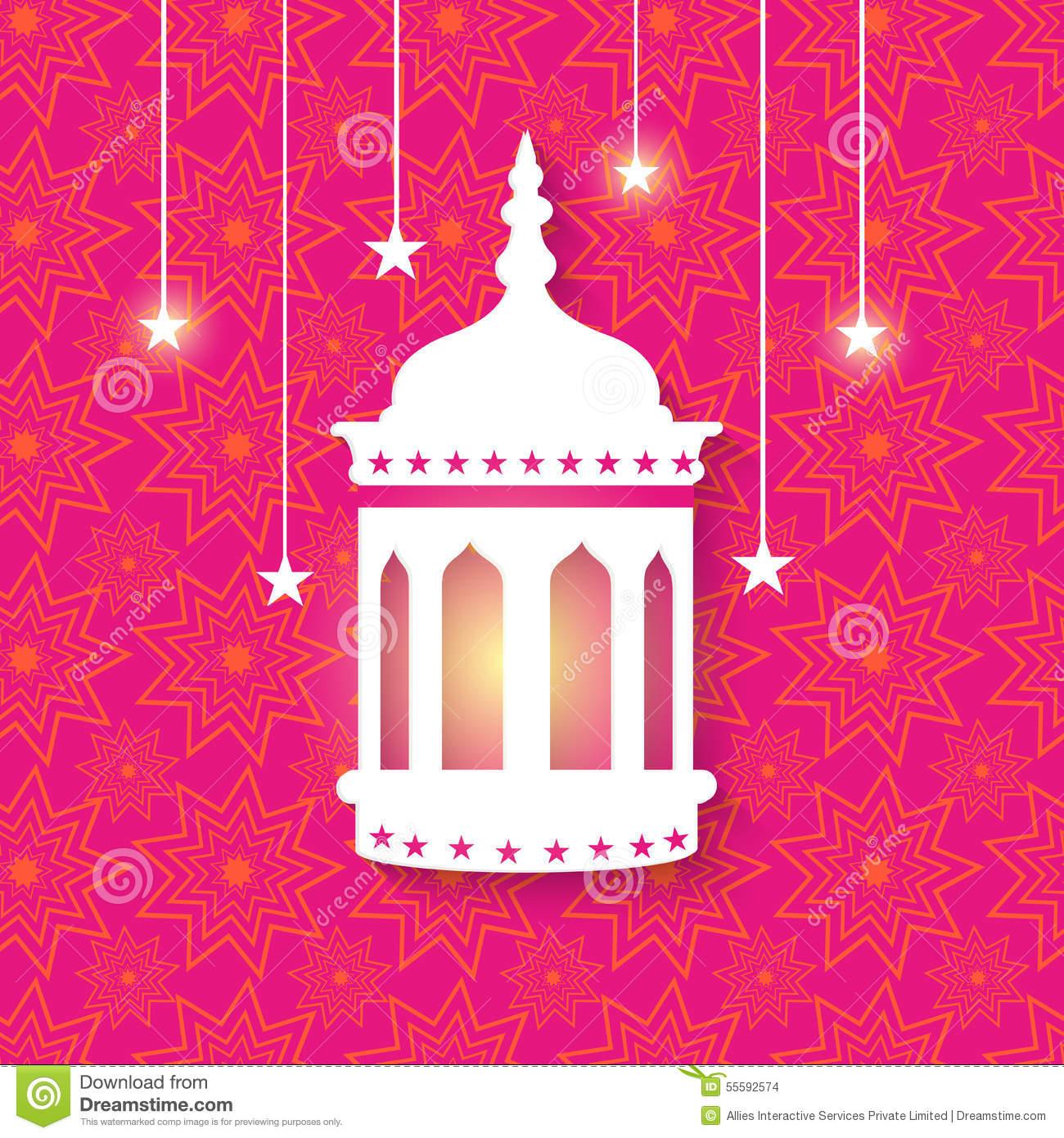 Beautiful Arabic Lamp Ramadan Kareem Stock Photos, Images.