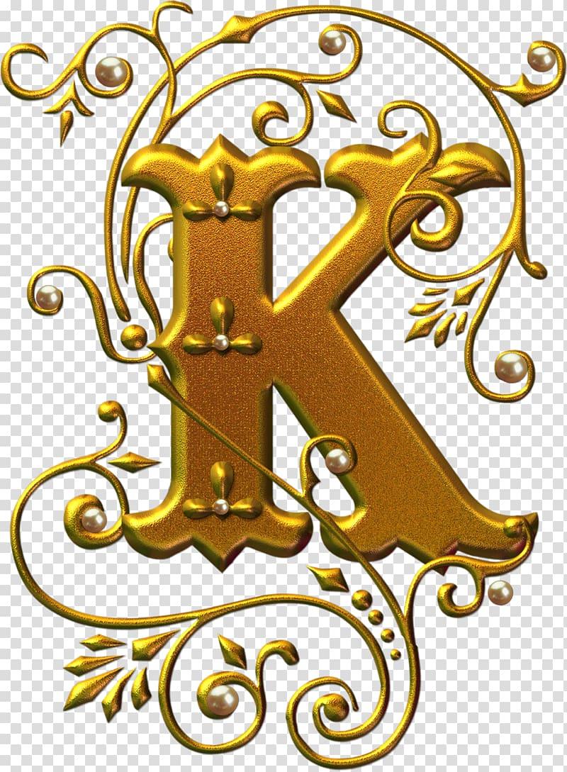 Letter Alphabet K Illuminated manuscript, Alphabets.