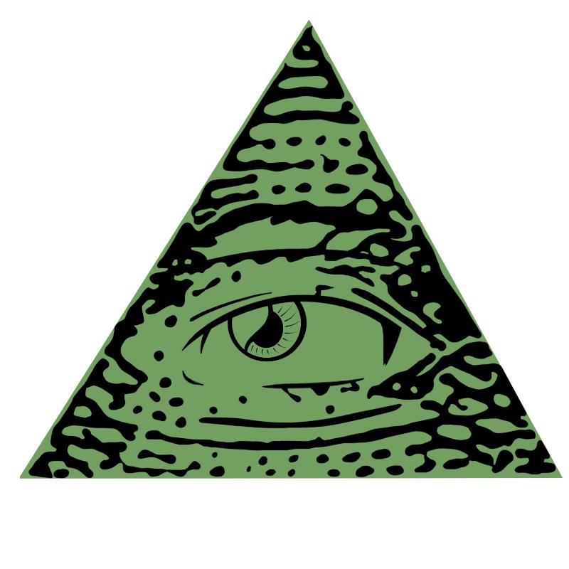 Illuminati Eye of Providence Secret society Freemasonry Clip.