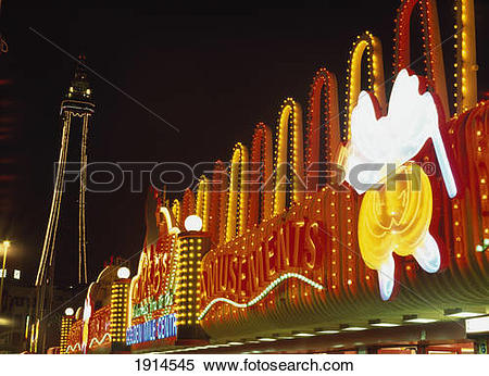 Stock Image of Blackpool Illuminations 1914545.