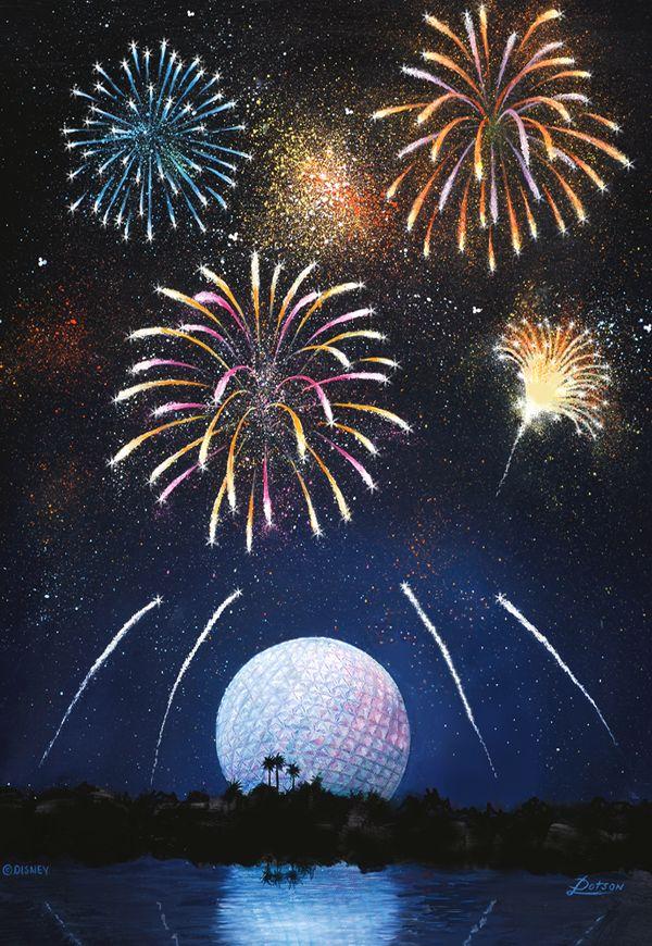 Disney Fireworks Clip Art.