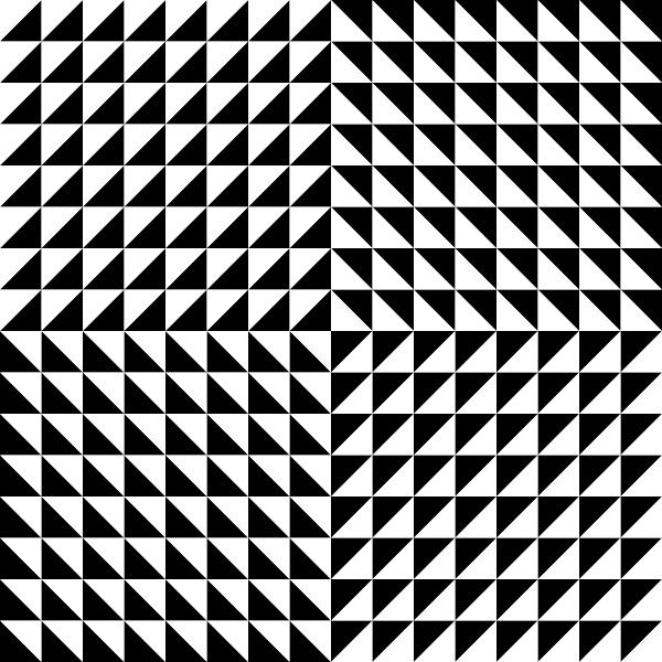 Triangle Optical Illusion Clip Art at Clker.com.