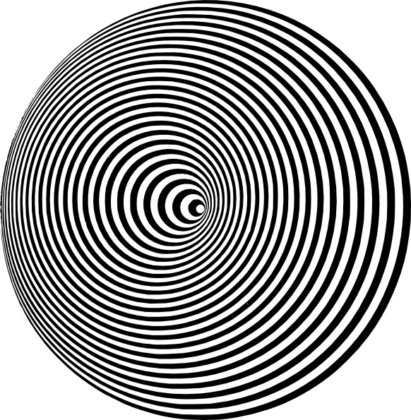 Optical Illusion clip art Free vector in Open office drawing svg.