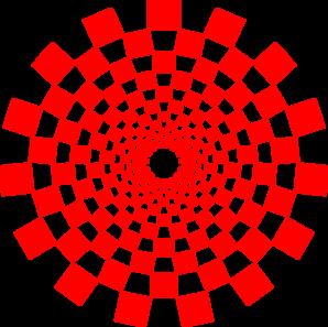 Checkered Illusion Clip Art at Clker.com.