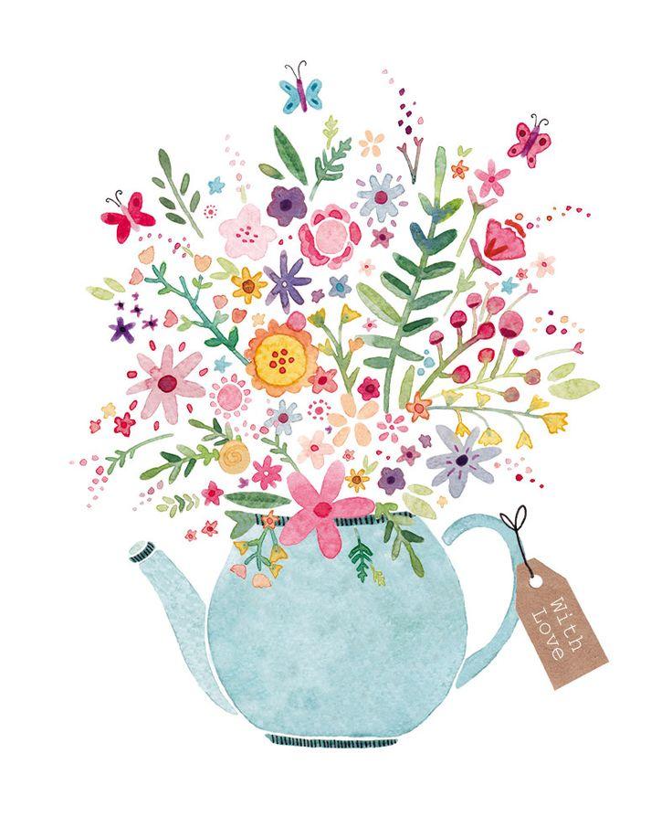 17 best ideas about Flowers Illustration on Pinterest.