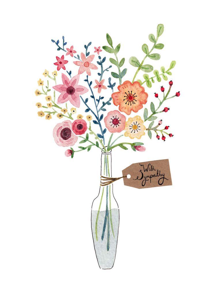 17 Best ideas about Flower Illustrations on Pinterest.